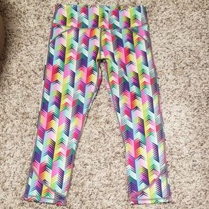 Fabletics Cropped Leggings NWT